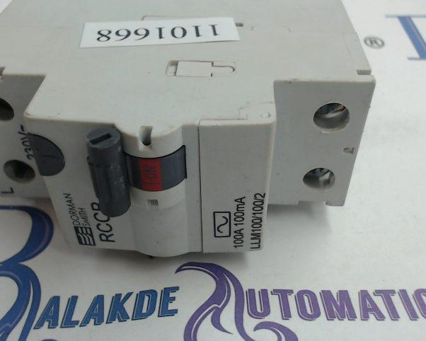 DORMAN SMITH KR1PC3230 C32 32 AMP 30mA 10KA RCBO CIRCUIT BREAKER.